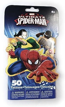Spiderman Tattoo Pack: Amazon.es: Salud y cuidado personal