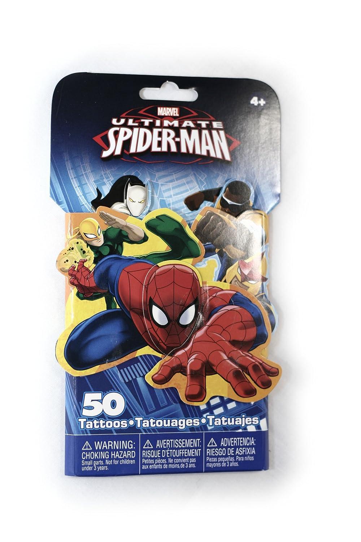781c17222131c Amazon.com: Spiderman Tattoo Pack: Beauty