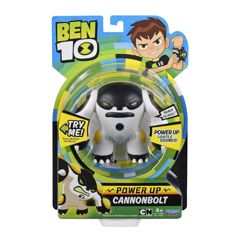 Ben 10 Power Up Cannonbolt Deluxe Action Figure Playmates 76606