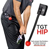 TOTAL GOLF TRAINER Hip - TGT Hip - Golf Training Aids - Fix Posture and Hip Rotation to Provide Consistent Ball Striking