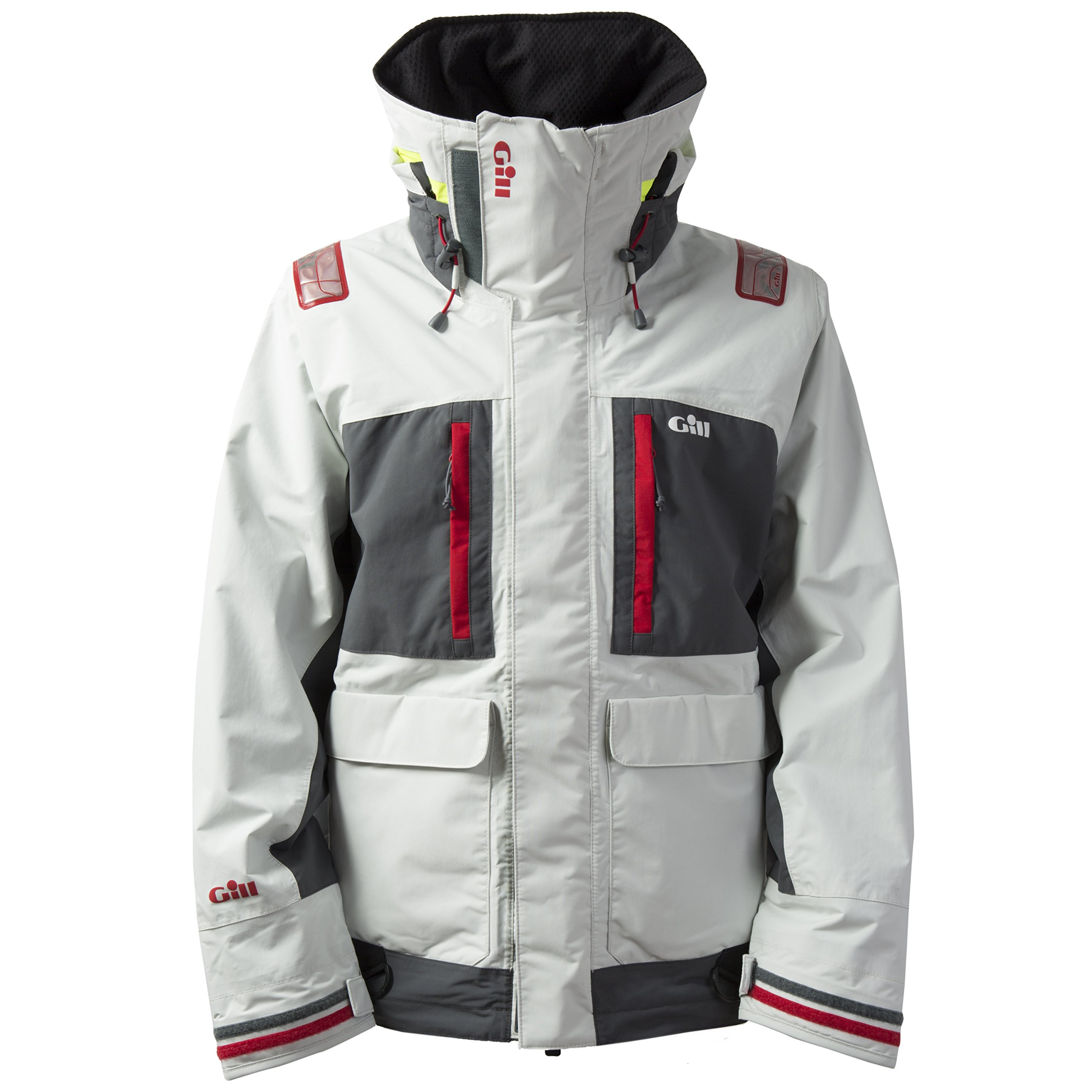Gill Tournament Jacket (Large, Silver) by Gill