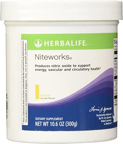 Herbalife Niteworks Lemon 10.6 Ounce