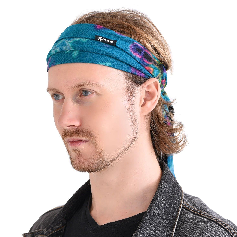Casualbox Tie-Dye Headband Bandana Boho Hippie Retro Flower psychedelic 60's 4589777965775