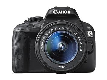 Canon EOS 100D - Cámara réflex Digital de 18 MP (Pantalla LCD 3 ...