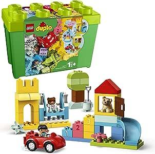 LEGO DUPLO Classic 10914 Deluxe Brick Box Building Kit (85 Pieces)