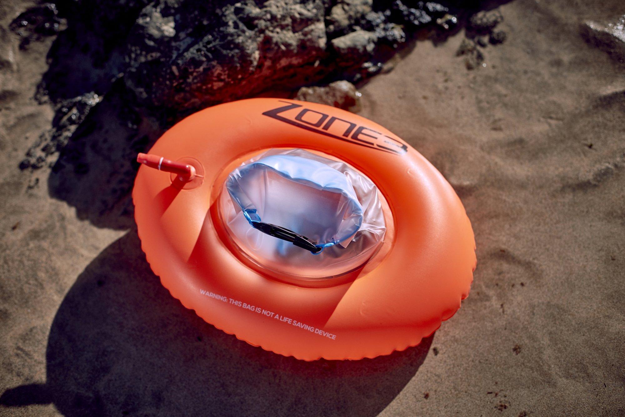 2016 Zone3 Swim Buoy/Dry Bag Mini Donut