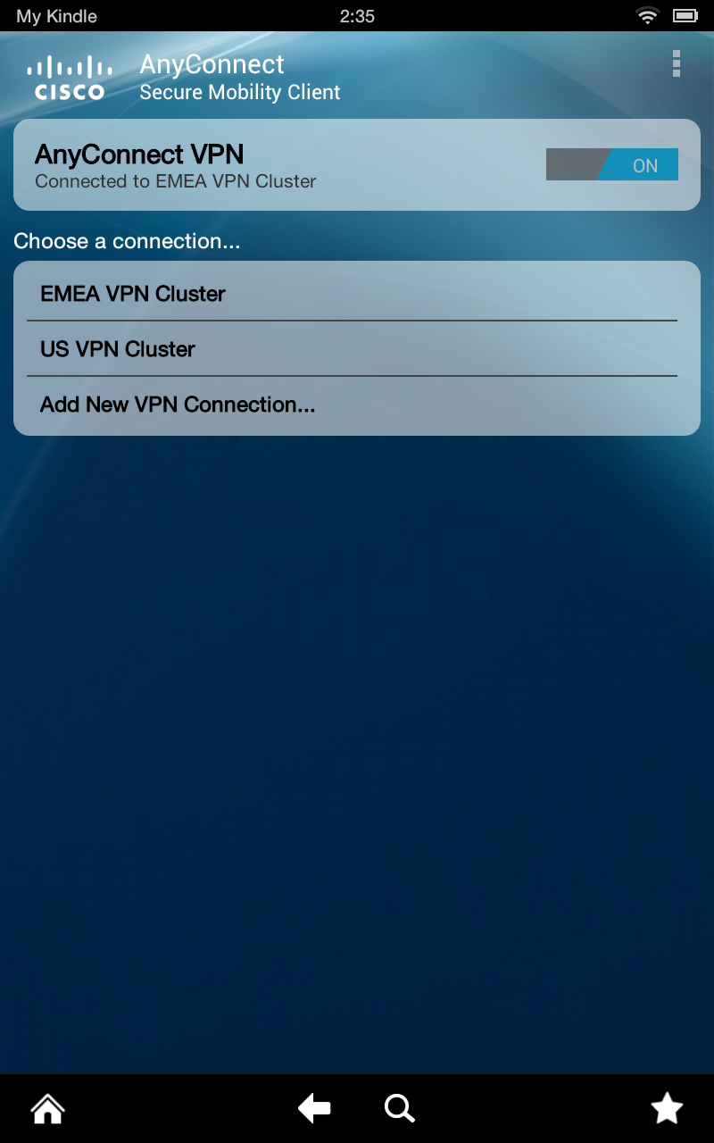 cisco anyconnect for mobile trial license