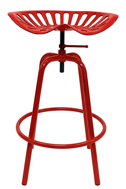 Leigh Country TX 97000 Tractor Seat Stool Red