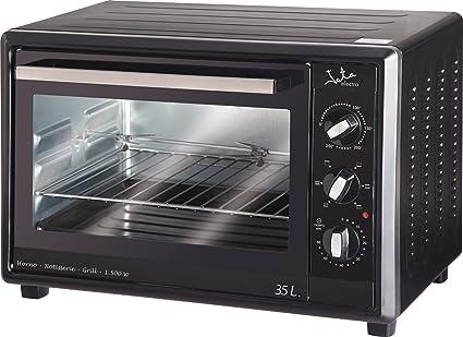 Jata HN535A - Mini horno, 35 litros, 1500 W, temporizador, color negro