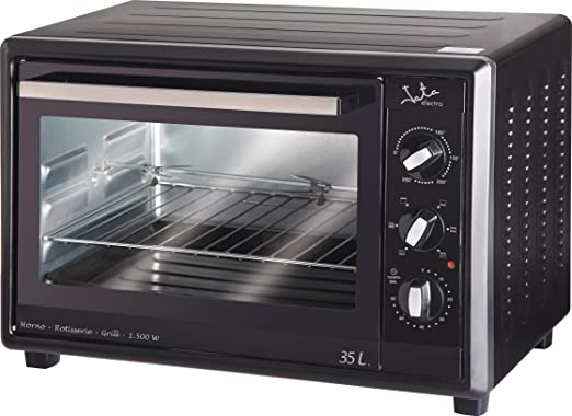 Jata HN535A - Mini horno, 35 litros, 1500 W, temporizador, color ...