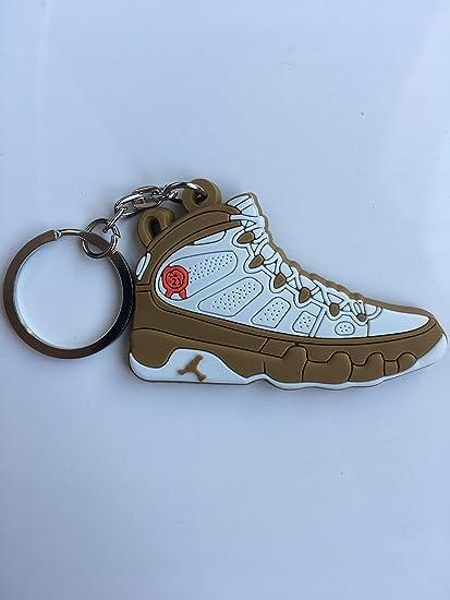 3671374f278 Amazon.com : Jordan Retro 9 Premio Bin 23 Sneaker Keychain Shoes Keyring AJ  23 OG : Sports & Outdoors