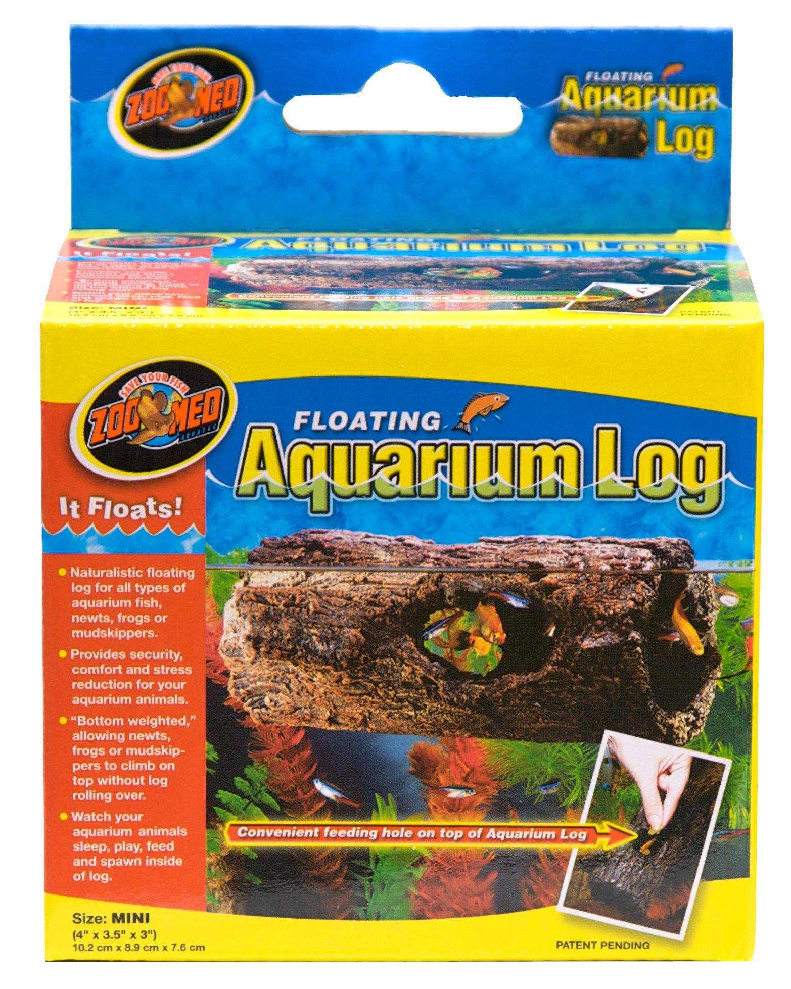 Zoo Med Floating Aquarium Log, Mini