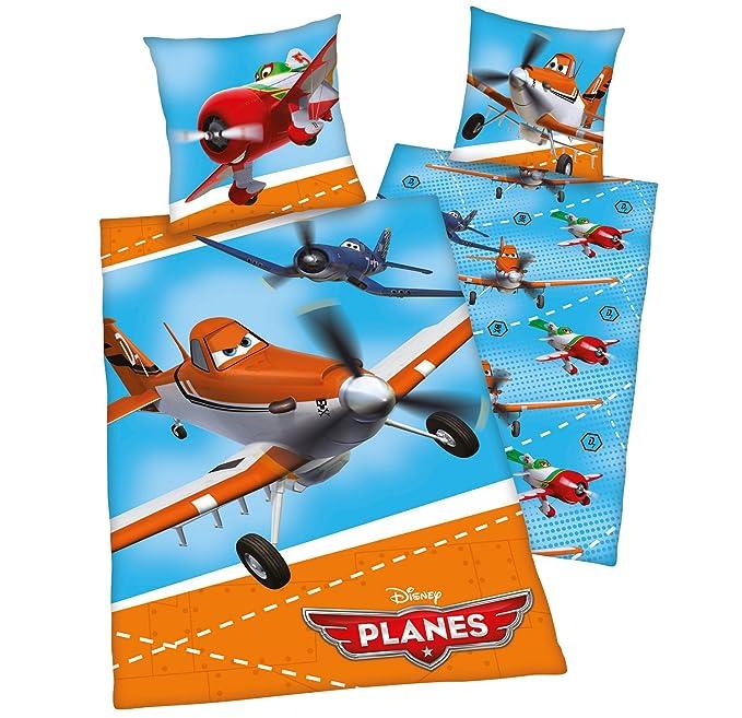 Herding Linon Bettwäsche 135 x 200cm Disney Planes Kinder