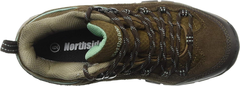 | Northside Womens Pioneer Mid Leather Waterproof Hiking Shoe | Hiking Boots