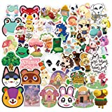 Animal Crossing Stickers 100pcs Vinyl Stickers Cool Stickers for Adults Kids Teens Waterproof for Hydro Flask Water…
