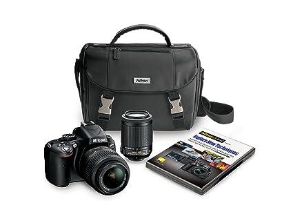 Nikon 5100 Juego de cámara SLR 16.2MP CMOS 4928 x 3264Pixeles ...