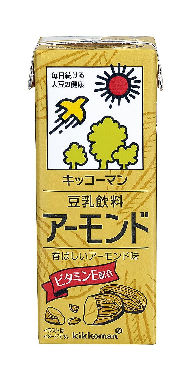 キッコーマンの豆乳飲料シリーズでカロリーが高い方に分類されるアーモンド味