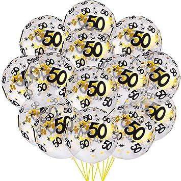 35 Piezas Globos de Confeti de Cumpleaños Globos ...