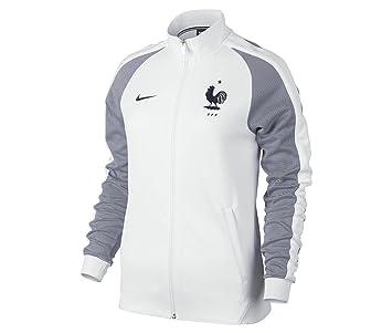 e6ca5375eccef Nike Fédération Française de Football 2015 2016 AUTH W N98 Veste Officielle  pour Femme XS