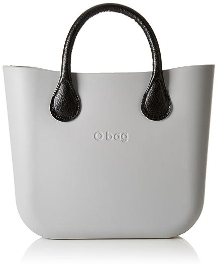 O bag - Obmb72_obmcv11, Bolsos de mano Mujer, Grigio (Grigio Chiaro),
