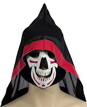 Forum Novelties Men's Wrestling Mask-Reaper, As Shown