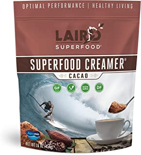 product image for Laird Superfood Non-Dairy Coffee Creamer Cacao - Powder Coconut Creamer | Non-GMO | Vegan | Gluten-Free, 1lb Bag
