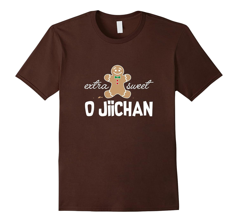 Extra Sweet O jiichan T-Shirt_ Cute Christmas Gingerbread-FL