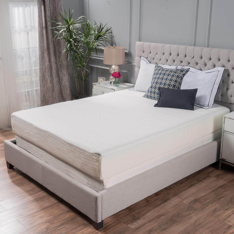 Great Deal Furniture 10 Full Size Memory Foam Mattress