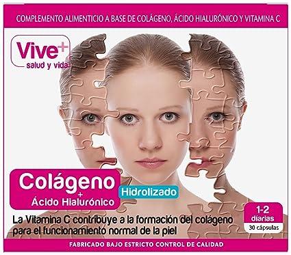 VIVE+ SALUDYVIDA colágeno caja 30 cápsulas