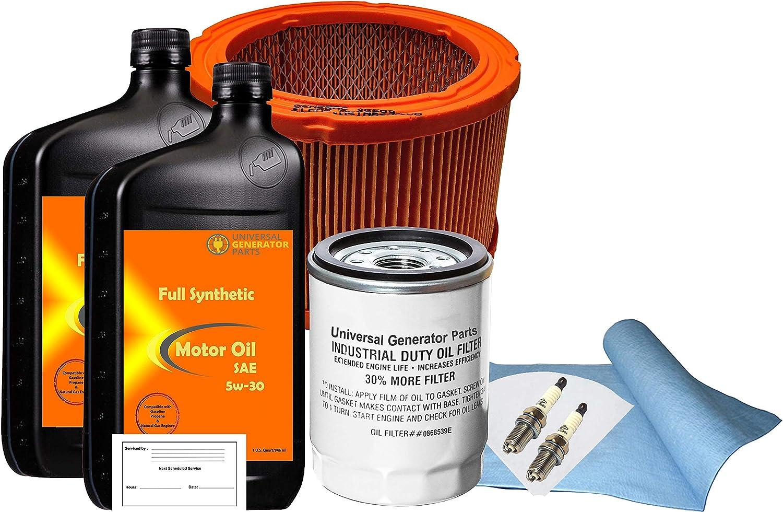 UGP Universal Generator Parts Replacement for Generac 0J57680SSM 20kW Service Maintenance Kit
