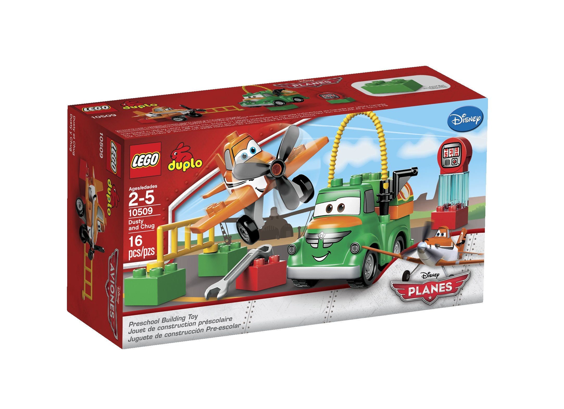 Planes Lego Duplo Item Fuel Truck Chug