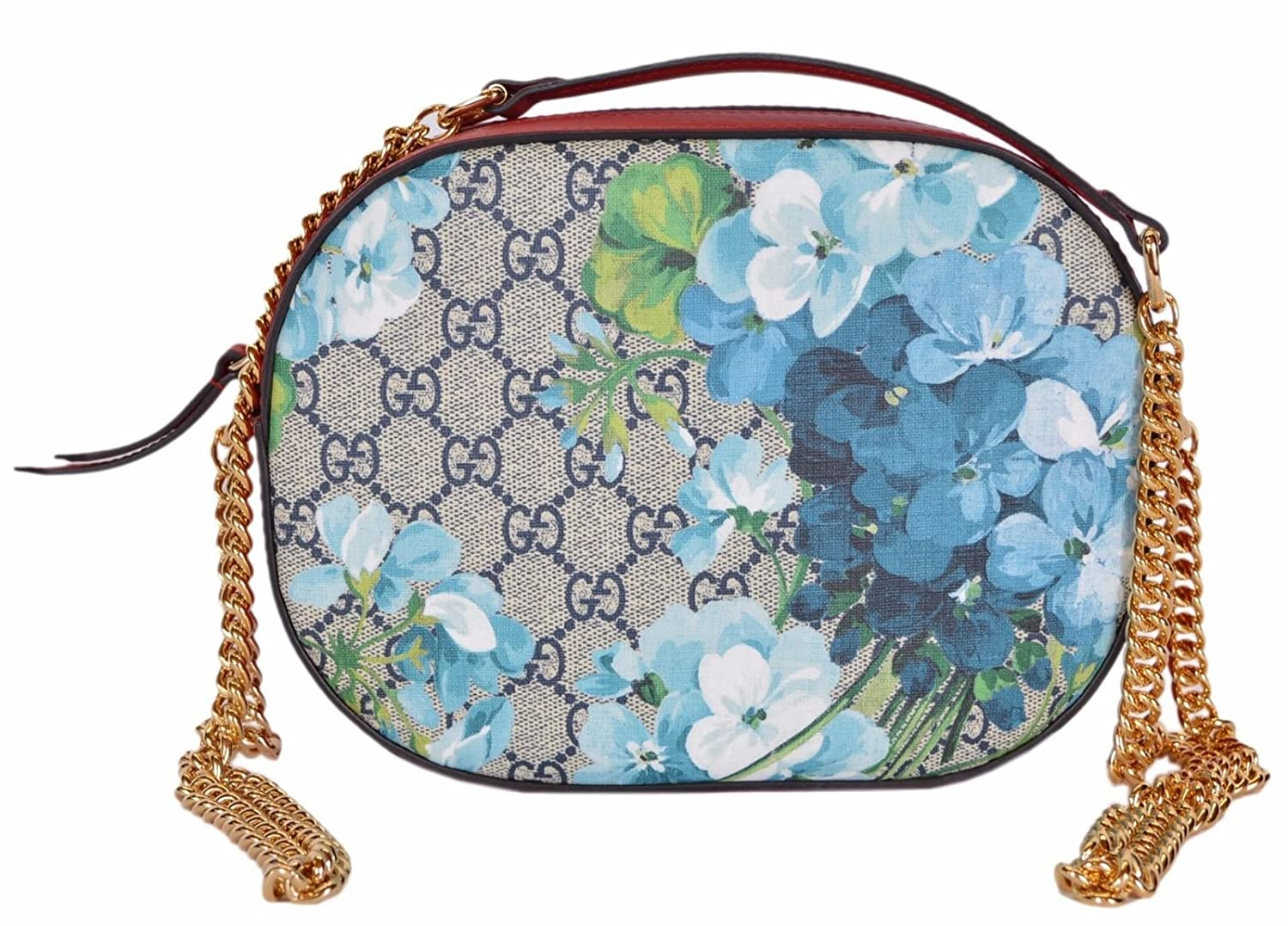 79010aa6d3f Top18  Gucci Women s GG Blooms Coated Canvas Small Crossbody Purse
