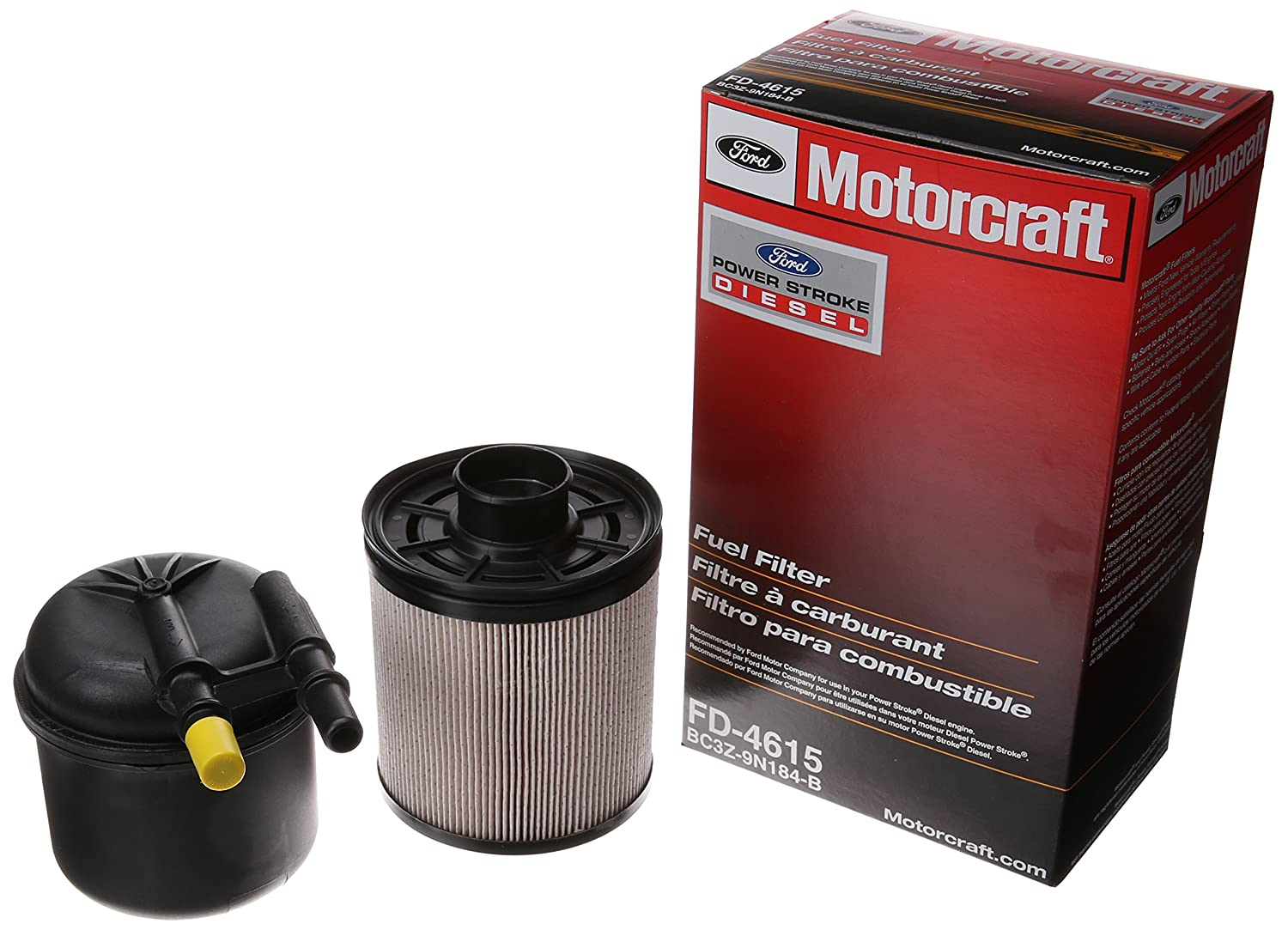 Fuel Filters Replacement Parts Automotive Toyota Pickup Filter Location Motorcraft Fd 4615