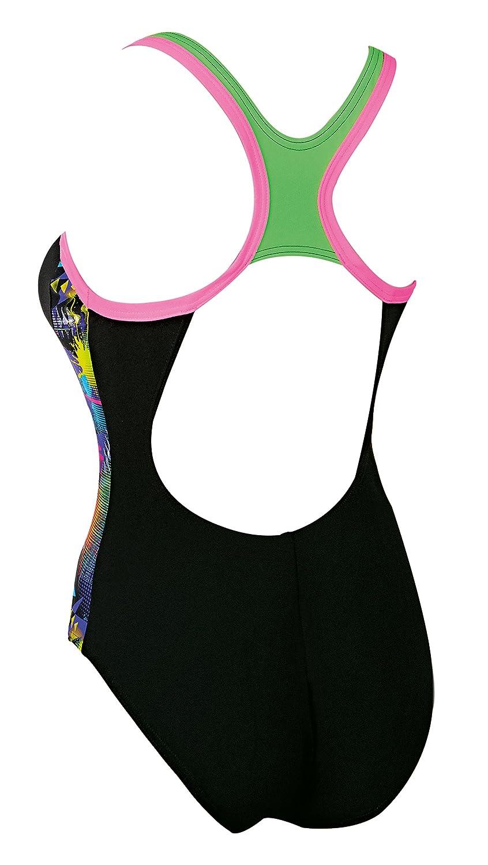 Black//Multi ZOGGS Women Arrow Atomback Swimsuit