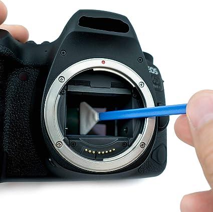 Lens Aid Sensor Reinigungsset Mit Swabs Und Kamera