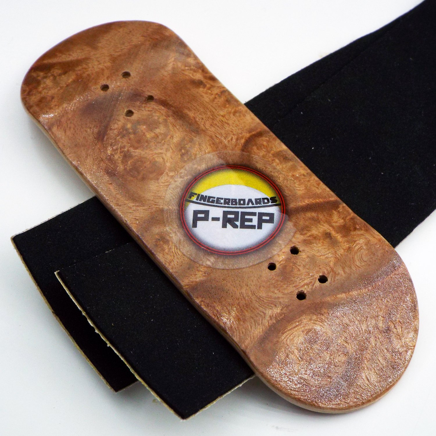 P-Rep TURNT UP STORM 34mm Complete Wooden Fingerboard w CNC Lathed Bearing