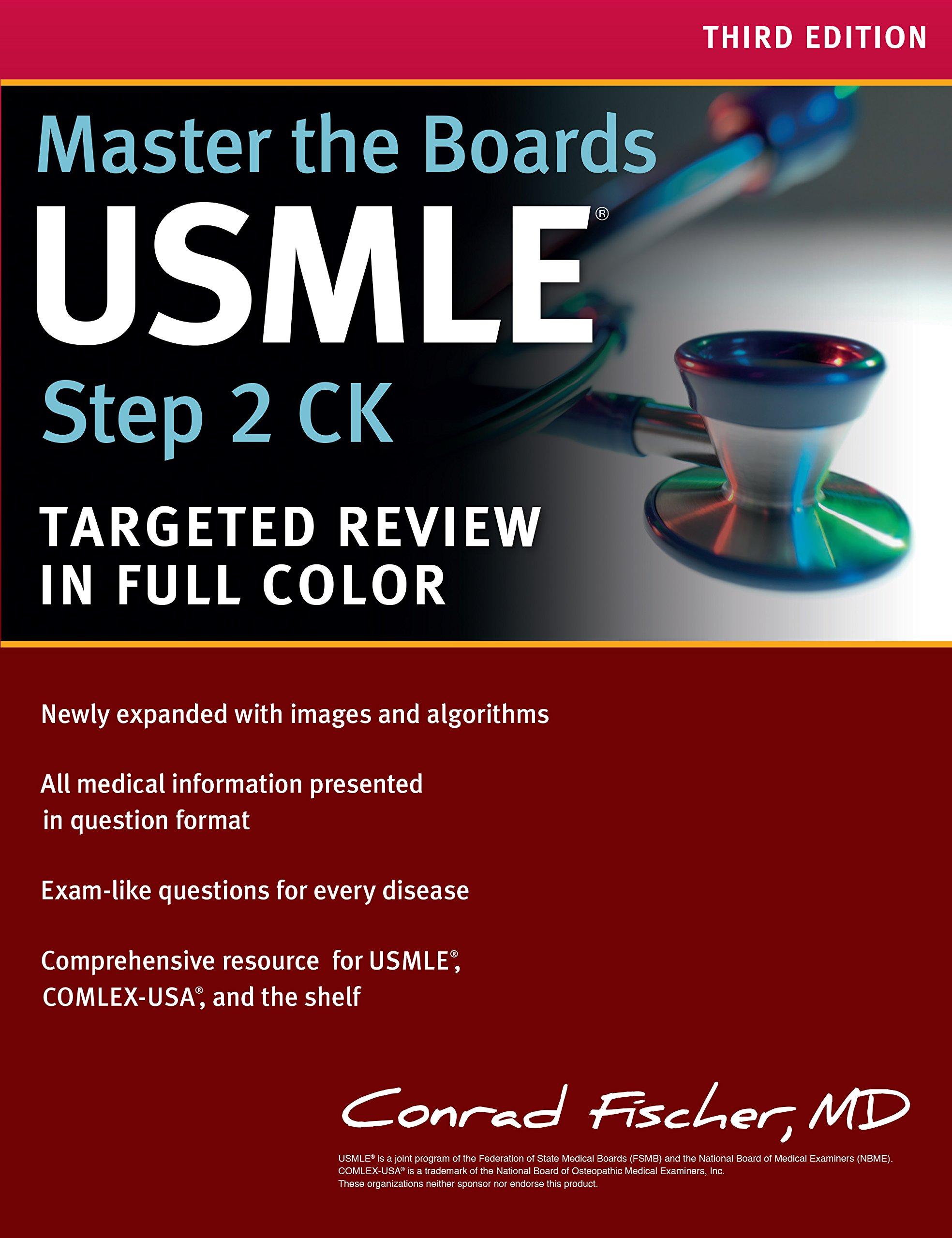 Master The Boards Usmle Step 2 Ck Conrad M D Fischer Amazon  # Muebles Fischer