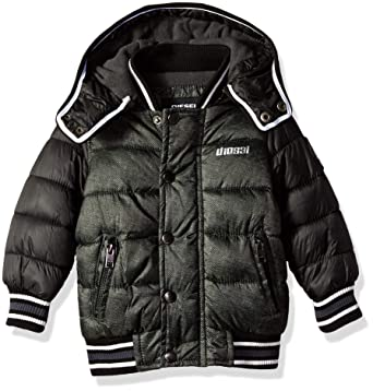 0f99d87e8 Amazon.com  Diesel Boys  Hooded Bubble Down Jacket  Clothing
