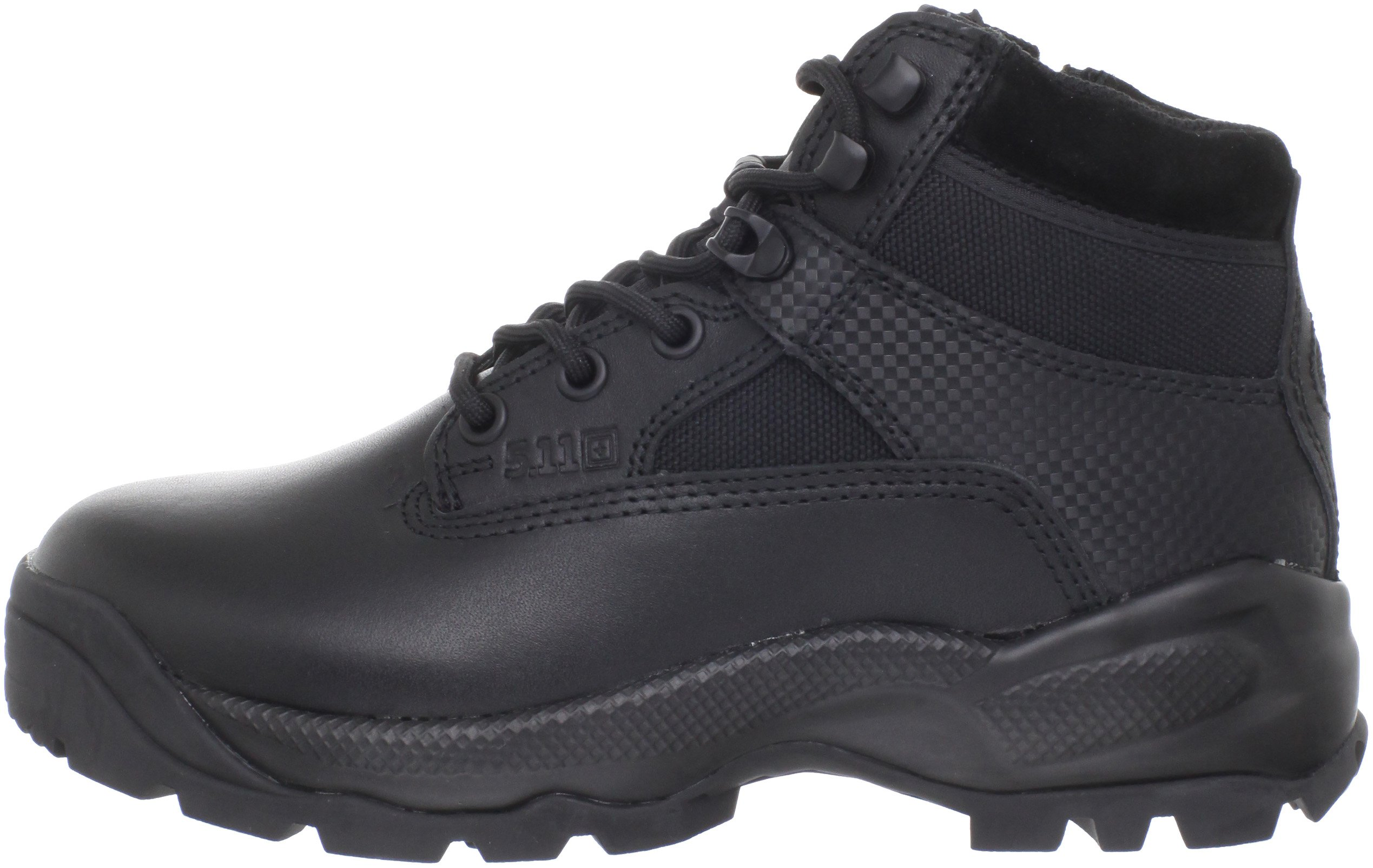 5.11 Women's A.T.A.C. 6'' Side Zip Tactical Boots, Style 12025, Black, 6 R by 5.11 (Image #5)