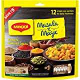 MAGGI Masala- ae -Magic Seasoning, Vegetable Masala, 72g Share Bag (12 Sachets)