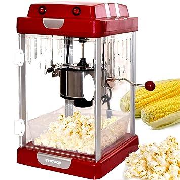 Syntrox Germany - Popcorn Maker Máquina de palomitas PCM de 310 W Texas: Amazon.es: Hogar
