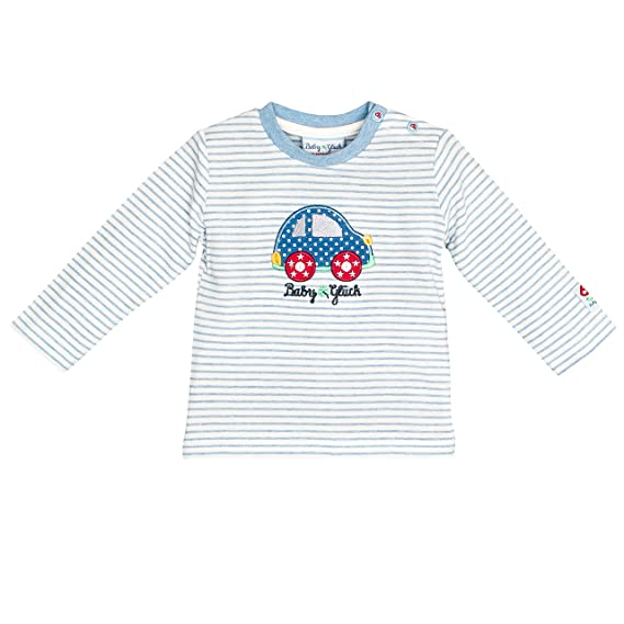 SALT AND PEPPER Baby-Jungen Bg Longsleeve Uni Langarmshirt