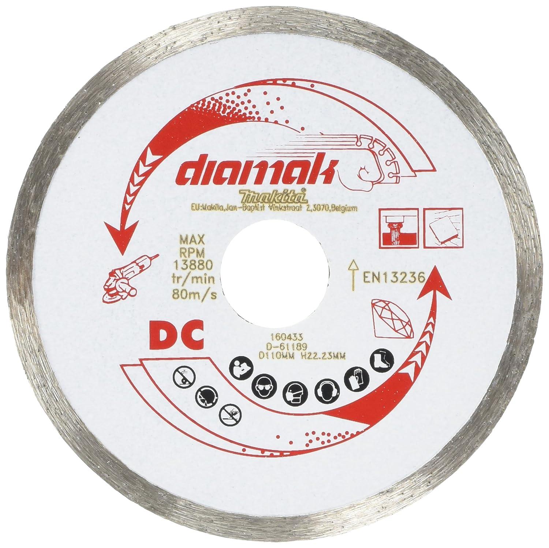 Makita D-61189 Diamond Wheel Continuous Rim - Multi-Colour