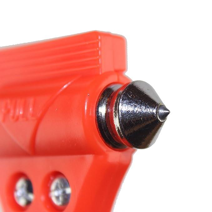 Amazon.com: Ammallo martillo de seguridad con punta de ...