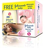 Johnson's Top to Toe, 200ml (with free 20 Wipes)