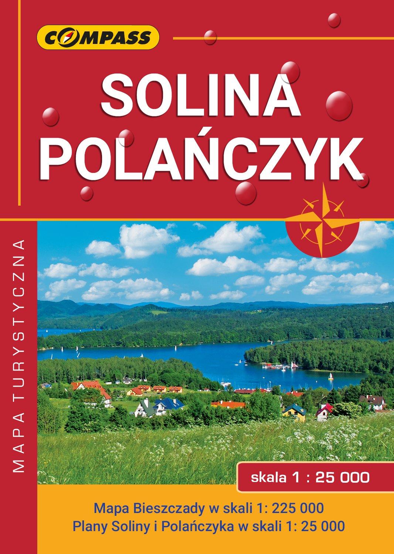 Amazon Fr Solina Polanczyk Bieszczady Mapa Opracowanie
