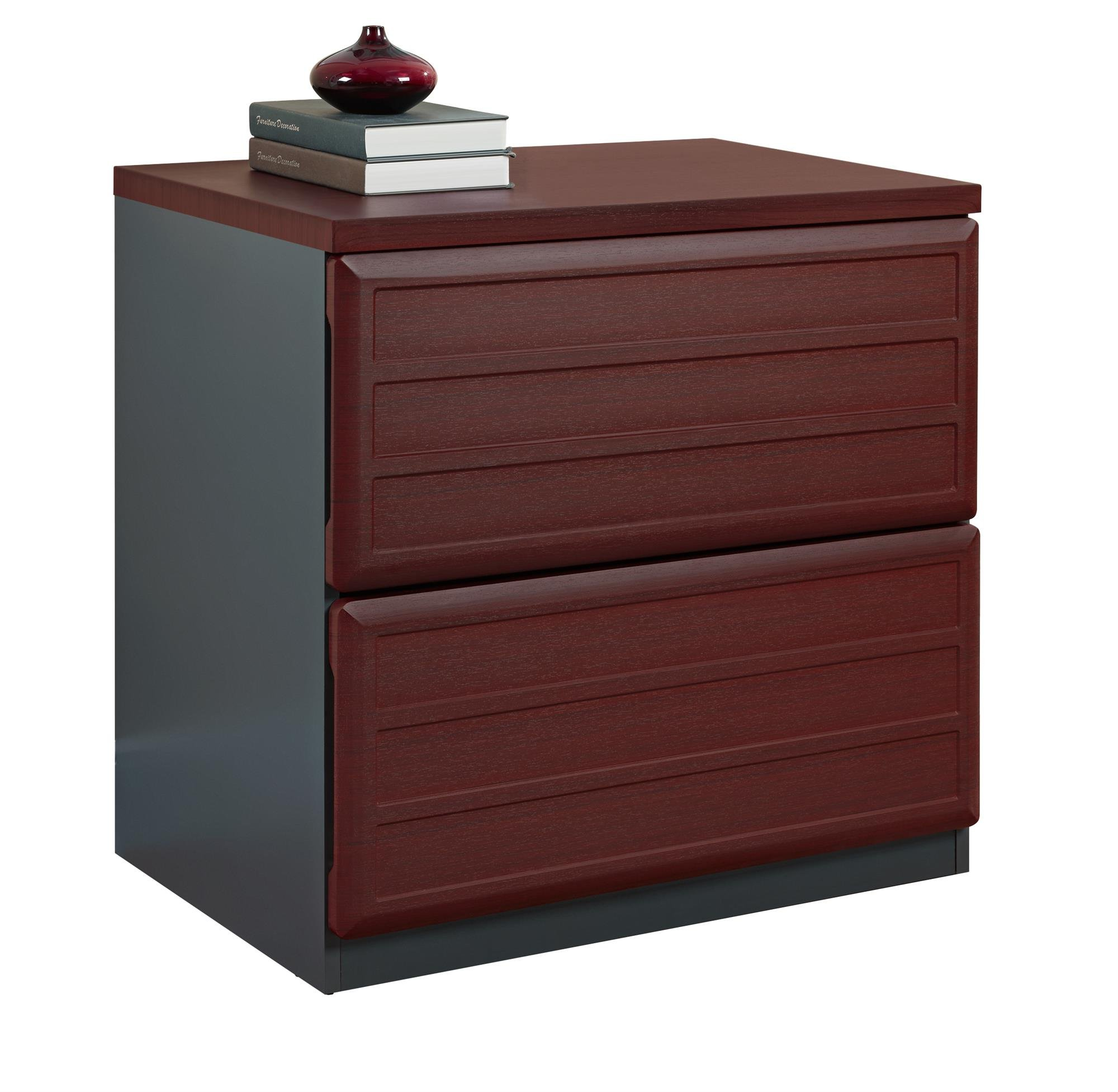 Ameriwood Home Pursuit Lateral File Cabinet, Cherry by Altra Furniture (Image #2)