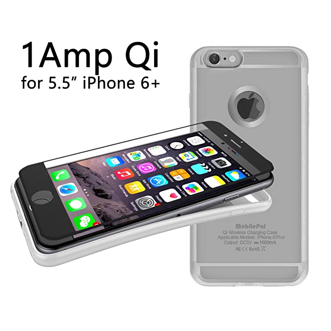 Amazon.com: mobilepal Qi receptor Cargador inalámbrico caso ...