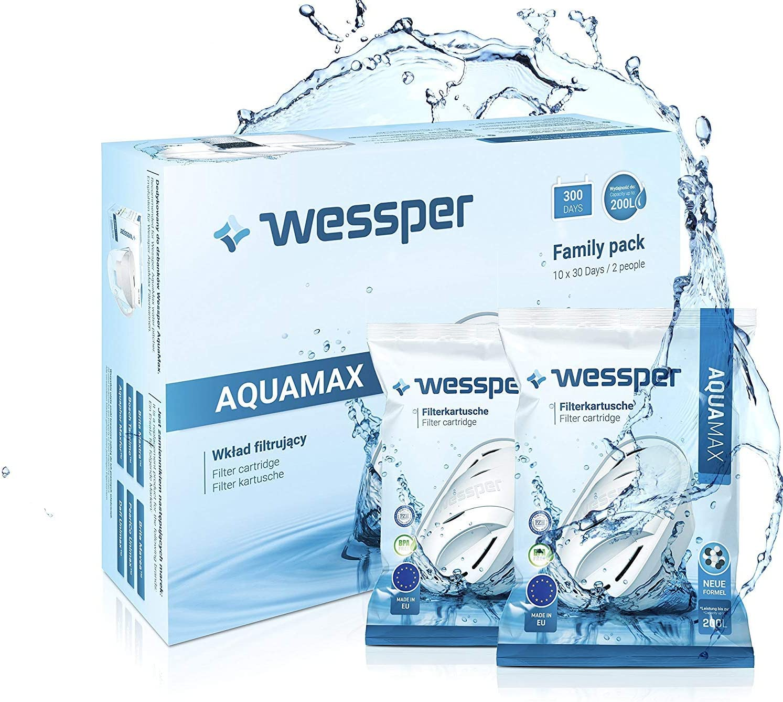 Filterkartuschen für Brita Maxtra Britta von Wessper® PROTECT Kartuschen Pack 8