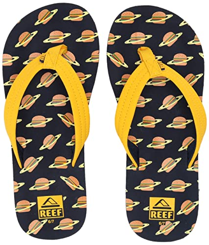 d11e8509ab12 Reef Boys AHI Sandal Planet Burger 067 M US Little Kid